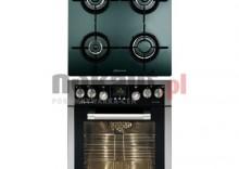 Kuchnia z płytą gaz. MASTERCOOK MPW6E FX + CMPW4GLS