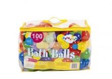 Piłki piłeczki do basenu 100 sztuk 6 cm T02805