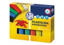 Plastelina Astra - 6 kol. kwadratowa