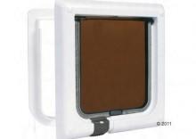 Drzwi dla kota Freecat Classic - kolor brązowy