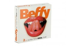 Cieniutkie prezerwatywy do seksu oralnego Beffy