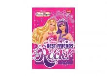 Zeszyt Barbie A5 w kratkę 16 kartek