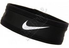 Elastyczna opaska do włosów - Nike Speed Performance Headband, kolor: czarny/biały