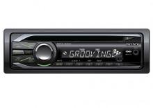 SONY CDX-GT44U Radioodtwarzacz CD mp3 z przednim wejściem USB i wejściem AUX