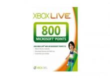 Xbox Live EU 800 punktów