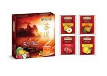 Bombonierka Red Tea 4 smaki po 8 saszetek