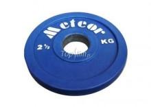 Talerz olimpijski ogumowany Meteor15kg