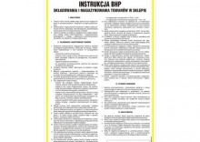 Instrukcja składowania i magazynowania towarów w sklepie