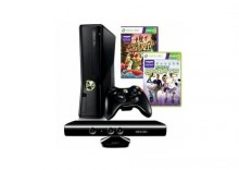 MICROSOFT 4GB Kinect Bundle + Adventures + Sports 1