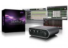 M-Audio Sibelius 7 Mbox Mini + PTEX