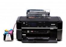 Epson Stylus Photo PX660 + System stałego zasilania+ Komplet tuszy fotograficznych INKSYSTEM 780 ml