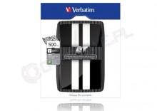 Verbatim GT 500 GB USB 2.0 czarno/biały