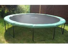 Osłona na sprężyny ZIELONA do trampoliny 244cm