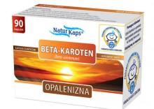 Beta-Karoten NATURKAPS Opalenizna kapsułki - witamina A beta karoten retinol 90kaps