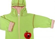 bluza z kapturkiem polar seledyn jabłuszko roz.74