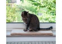 Legowisko dla kota na parapetPlush - Dł. x szer. x wys.: 60 x 26 x 2 cm