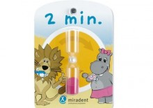 Miradent Hourglass - Klepsydra do odmierzania czasu mycia zębów