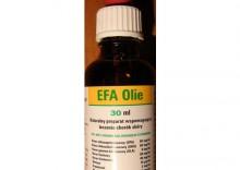 Efa Olie - piękna sierść i leczenie schorzeń skóry