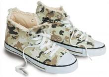 Trampki - Camo Sneaker - putynia