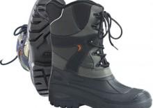 Buty zimowe Trekking szaro-czarne, roz. 37