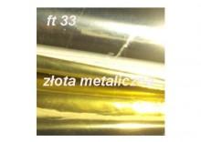 Folia ft33 metaliczna złota