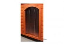Drzwi plastikowe do budy dla psa Niko - Dla rozm XL: szer. x wys.: 34 x 52 cm