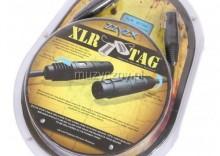 ZZYZX Snap Jack kabel mikrofonowy XLR TAG 7,62m