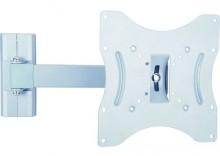 Uchwyt NA WYSIĘGNIKU do Monitora Telewizora LED LCD 27-42 30kg Dystans 60-300mm VESA max. 200x200 Arkas LC-Y 142T SR - srebrny