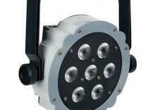 Showtec Compact Par 7 Tri - Efekt LED 3w1