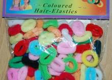 Komplet frotek do włosów -mix kolorów