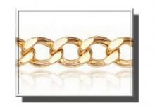 XAA0020 | Łańcuszek Pancerka dł. 50cm żółte złoto 333 szer.3,5mm
