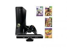 Konsola Xbox 360 4GB + Kinect + Gra Kinect Sports + Gra Kinect Adventures + Gra Gunstringer + Gra Fruit Ninja Kinect