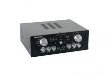 Skytronic Wzmacniacz karaoke FM / USB / SD / Rem