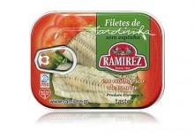 Filety z sardynek portugalskich - w kremie z pomidorów, 100g