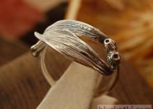 JEMIOŁA - srebrny pierścionek