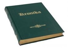 Kronika A4 introkal - zielona