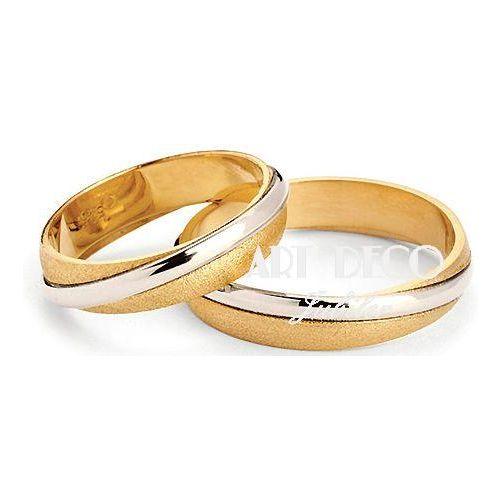 Złote Obrączki Ślubne VERONA by Yes wzór 302b