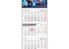 Kalendarz trójdzielny 2013 Truck
