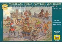 Zvezda 8027 - Medieval Field Powder Artillery