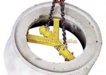 4498955 Trawersa do podnoszenia stożkowych rur betonowych SCX1