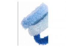 Gumka PLUSZOWA niebieska, błękitna