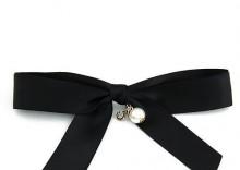 Spinka bow czarna