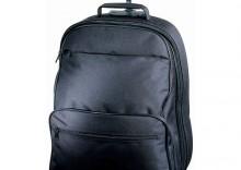 Plecak na kółkach z miejscem na laptop
