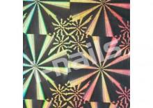 Folia hologramowa samoprzylepna - folh1 geometryczne kształty