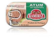 Stek z tuńczyka w sosie własnym puszka, 120g