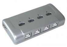 PRZEŁĄCZNIK DRUKARKOWY USB 2.0 AUTO 4PC -> 1 URZĄDZ