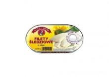 Filety śledziowe w oleju 170g