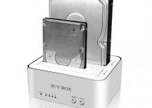 """ICY BOX Stacja dok.+klonująca dla 2,5""""+3,5"""" SATA HDD/USB 3.0"""