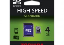 microSDHC 4GB 1-adap [SD-C04GJ(BL5A]