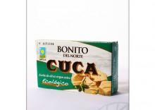 Cuca: tuńczyk bonitow oliwie z oliwek BIO - 112 g
